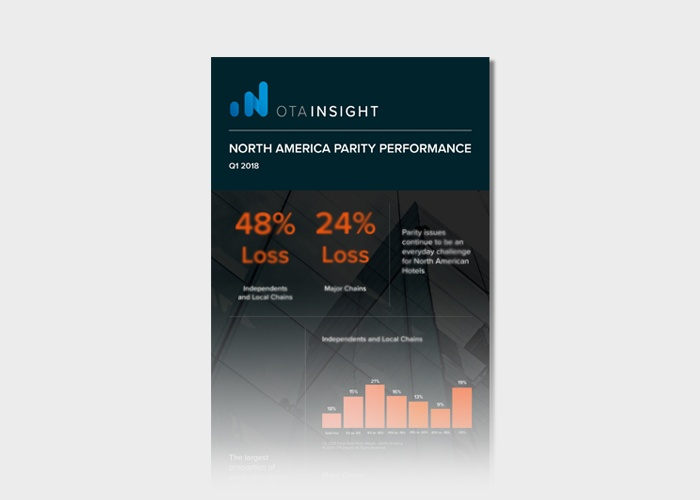 [INFOGRAPHIC] North America hotel parity performance